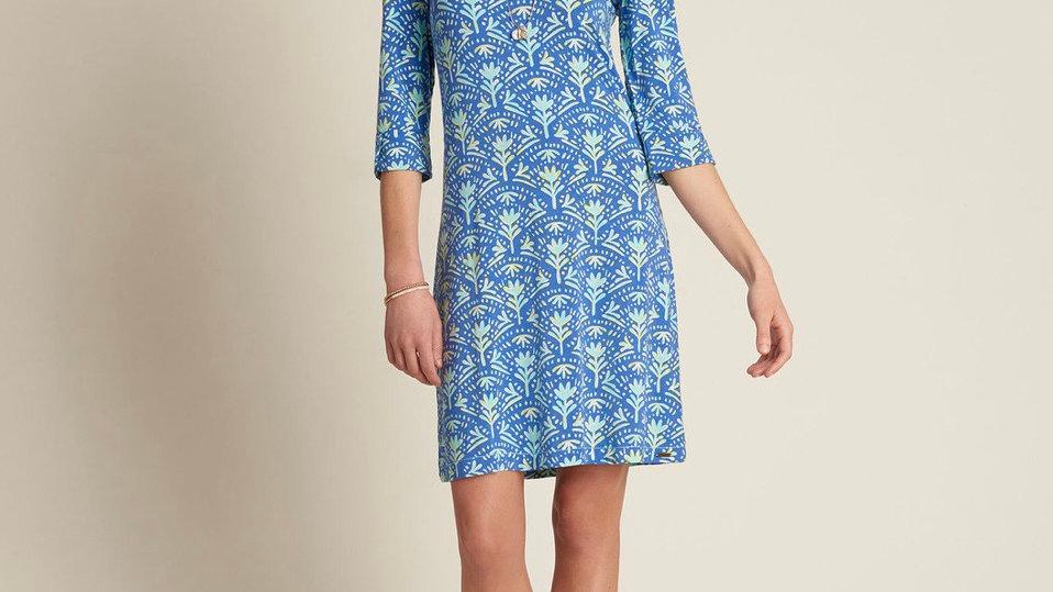 HATLEY LUCY DRESS BLUE BATIK