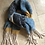Thumbnail: Weird Fish Katy Brushed Scarf Storm Blue