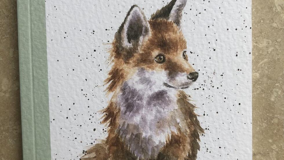 Wild At Heart A6 Fox Notebook