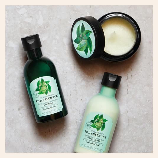Green Tea Hair Care