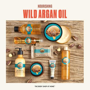 Wild Argan Oil Range