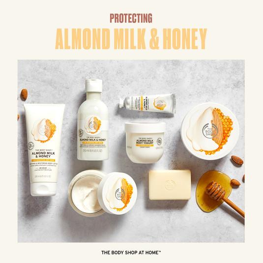 Almond Milk & Honey Range