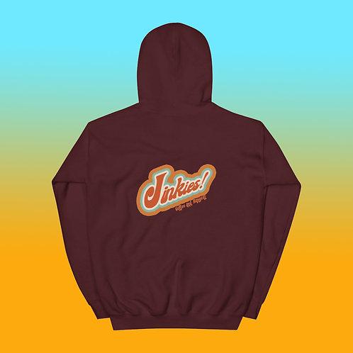 Maroon Signature Jinkies! Logo Hoodie