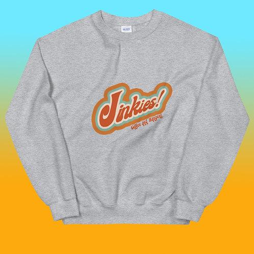 Grey Signature Jinkies! Logo Crewneck