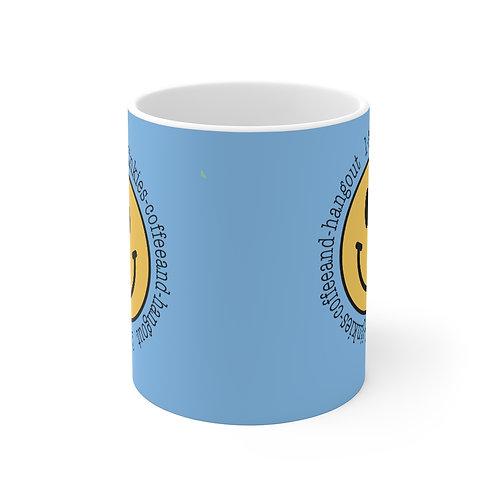 Light Blue 1-800 Jinkies! Coffee Mug