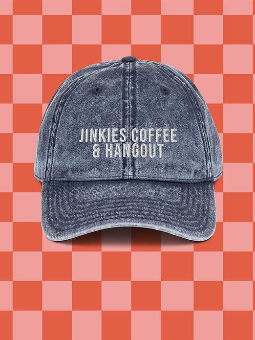 Denim Jinkies! Coffee and Hangout Dad Hat