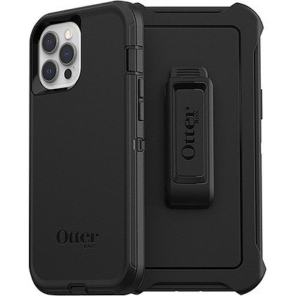 OtterBox Defender Series Case for Apple iPhone 12 Pro Max - Black