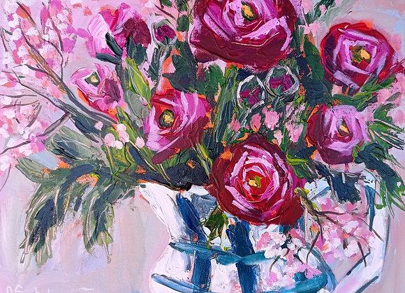 Bouquet of ranunculus