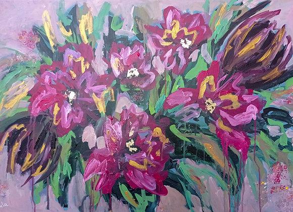 Floral Splash #1