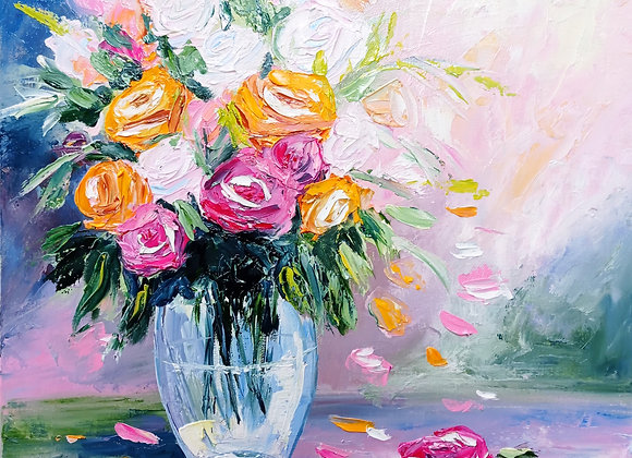 Roses in a vase #2