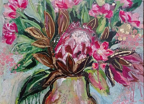 Joyful Protea