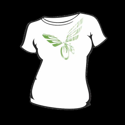 Triko Dámské  Wings White