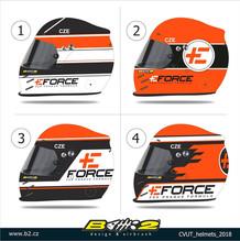 eForce - helmy pro studenty ČVUT
