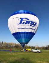 Fany - grafické návrhy balónu