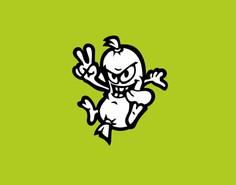 Osobní logo motokárového inženýra a závodníka Petra Klobáse