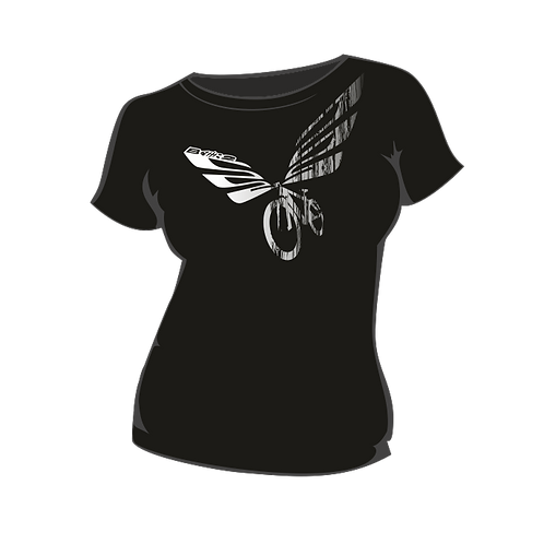 Triko Dámské  Wings Black