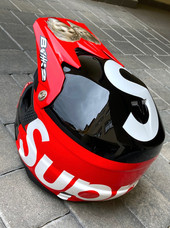 SUPREME design na MX helmě 6D