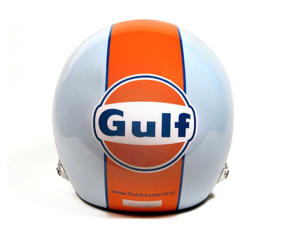 Helma Bell v legendárním designu Gulf