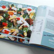 Výroční dvouletá kuchařka pro firmu Fany gastroservis - 60 receptů, 201 fotek, 164 stran, náklad 1000ks. Od designu až po tisk