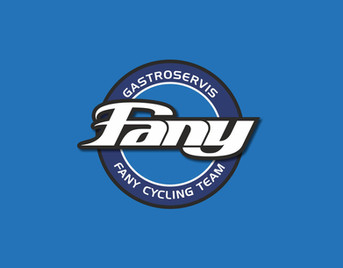Logo FANY cycling team - cyklistický team pod patronací firmy FANY Gastroservis