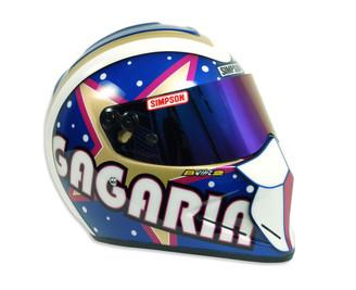 Ano byl první a lidi ho milovali ... grafické návrhy a kresba technikou airbrush helmy zn. Simpson