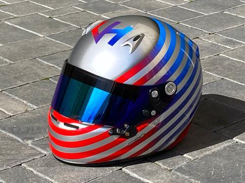 Helma pilota týmu MS Kart Viléma Heneho
