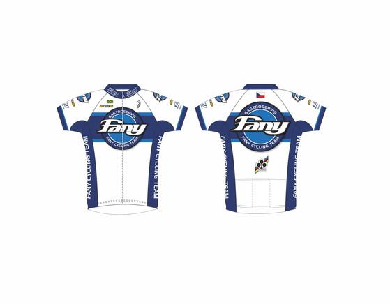 Grafické návrhy cyklistických dresů