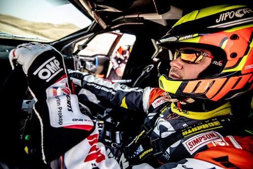 Martin Prokop - WRC a Paris - Dakar