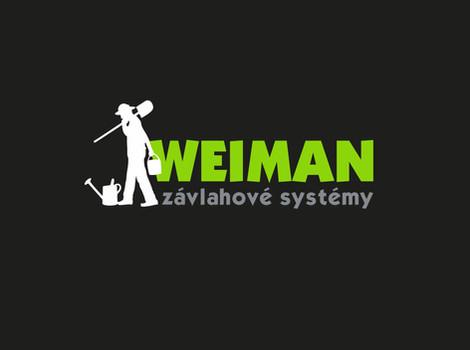 Logo Weiman - specialisté na závlahové systémy a zahrady