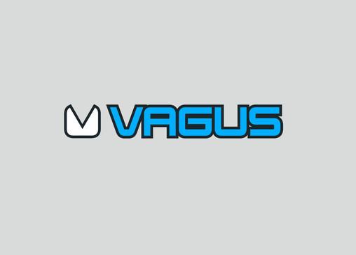 Logo Vagus - výrobce lyžařských brýlý, helem, oblečení a doplňků pod patronací Ondry Banka