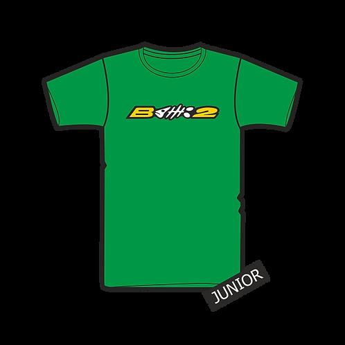 Triko Junior Logo B2 Green