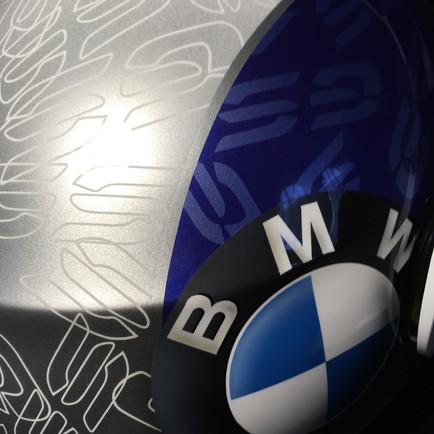 Design vyklápěcí helmy Schubert doleděn k motocyklu BMW