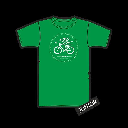 Triko Junior Biker Green