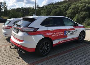 Návrhy polepu Ford Edge, ředitele firmy SPZ servis