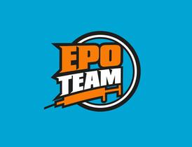 Logo EPO team - sypu, sypeš, sypeme...logo cyklistického teamu
