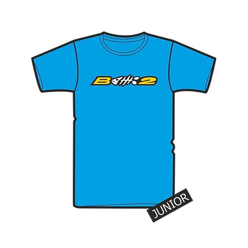 Triko Junior Logo B2 Azur