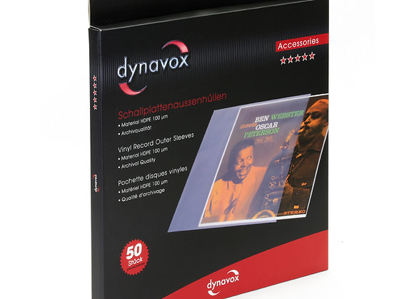 Dynavox Schallplatten-Außenhüllen 50er-Pack