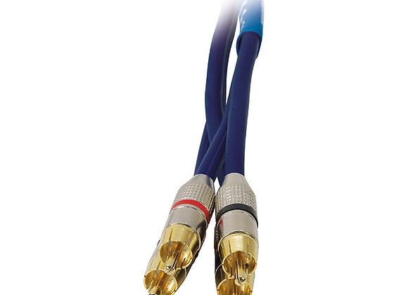 Cinch-Kabel 6,0 m BLANKO