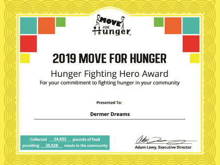 One of the Top 10 Food Drives of 2019!