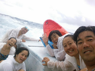 First Relay Team from Japan Across Kaiwi