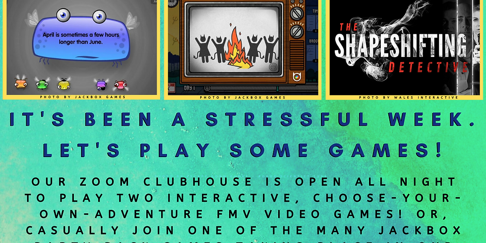 Camp Yampire: Let's Play Some Games!