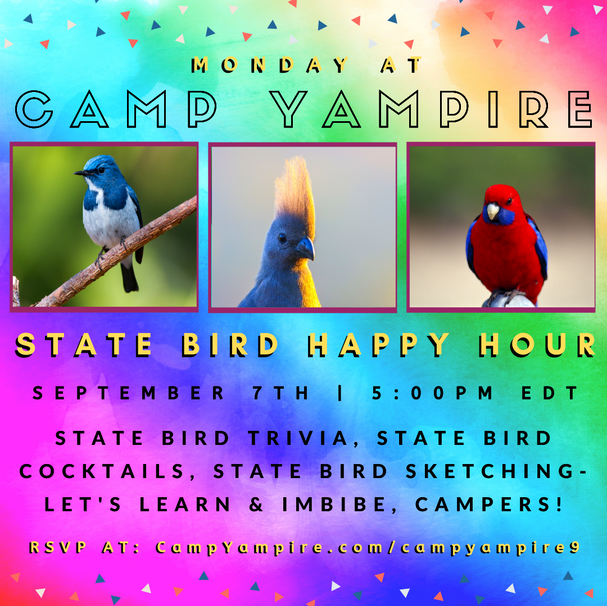 Monday, September 7th at 5:00PM EDT: