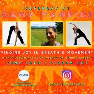Finding Joy In Breath and Movement with