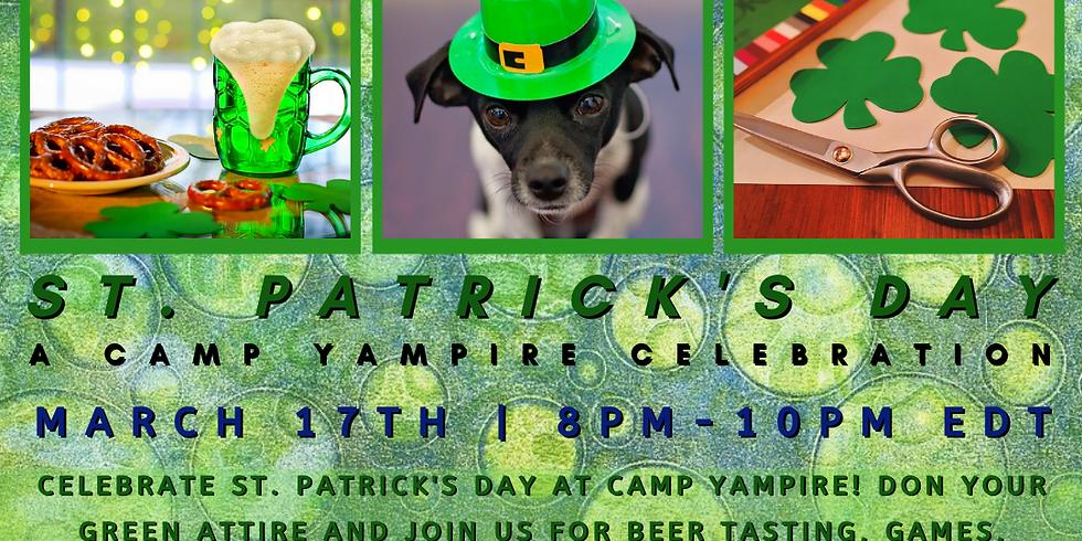 St. Patrick's Day: A Camp Yampire Celebration!