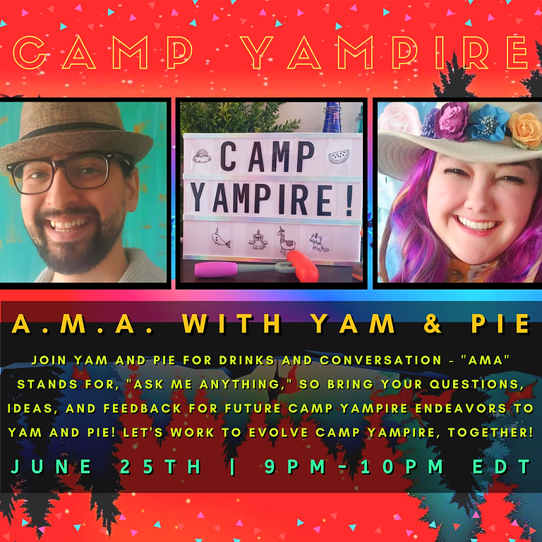A.M.A, with Yam & Pie