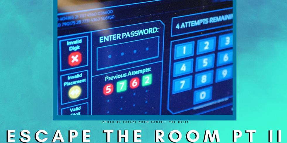 Camp Yampire: Escape the Room: PT II!