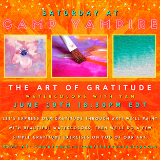 The Art of Gratitude - Watercolors with