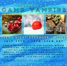 Saturday, July 25th at 10:00PM EDT: