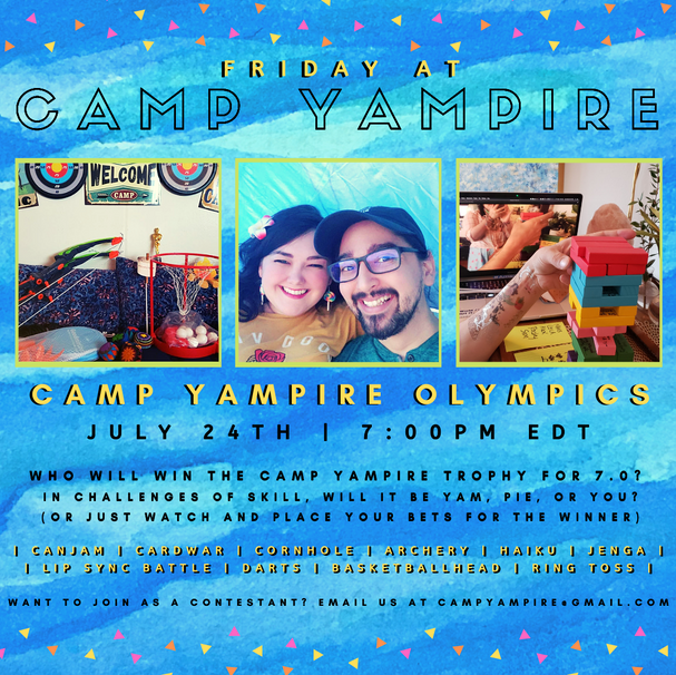 Friday, July 24th at 7:00PM EDT: