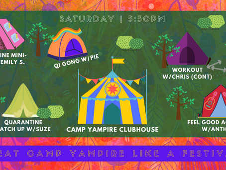 Camp Yampire Moves to Topia!